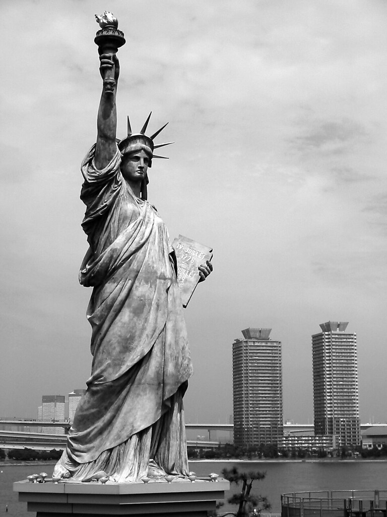 The Statue of Liberty in Odaiba  Odaiba, Minato, Tokyo, Jap…  Flickr