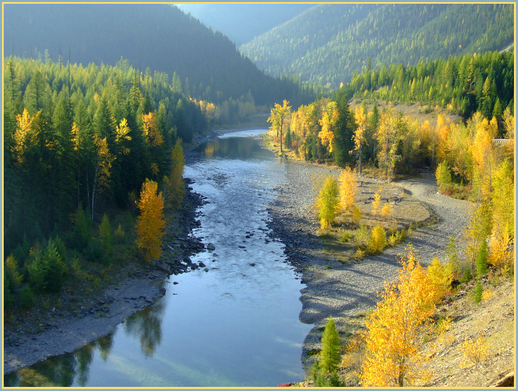 Flathead River - Montana | The Middle Fork of the Flathead ...
