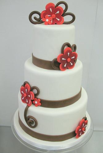 Wedding Cake Creme Vanille Et Fruitz