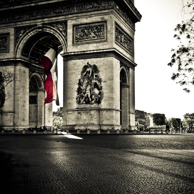 l 39 arc de triomphe place charles de gaulle etoile flickr. Black Bedroom Furniture Sets. Home Design Ideas