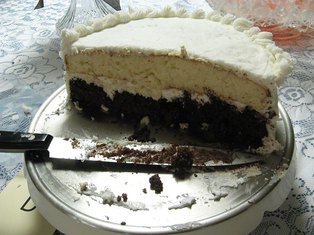 Kahlua Cake With Chocolate Chips