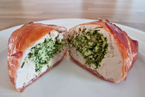 serrano wrapped cheesy chicken! | by the golden kitchen