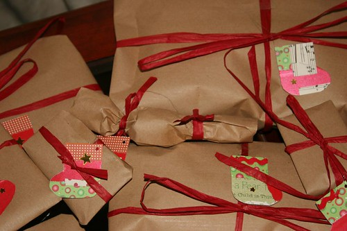 Lovely Christmas presents ready for giving | by ::Christine::