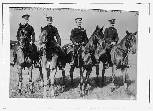 Lt. Walter Brooke; Lt. C.T. Walwynt; Col. P.A. Kenna & Lt. Geoffrey Brooke  (LOC) | by The Library of Congress