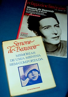 Simone (Lucie-Ernestine-Marie Bertrand) de Beauvoir - 100 years - 100 anos - 100 ans | by * starrynight1