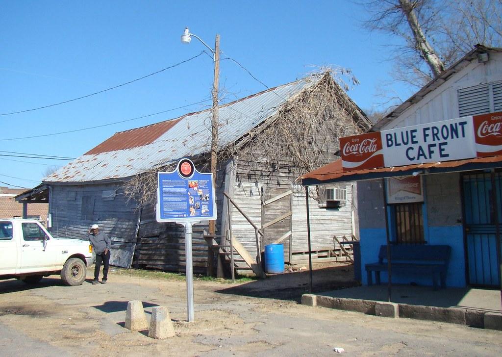 Blue Front Cafe Bentonia Mississippi
