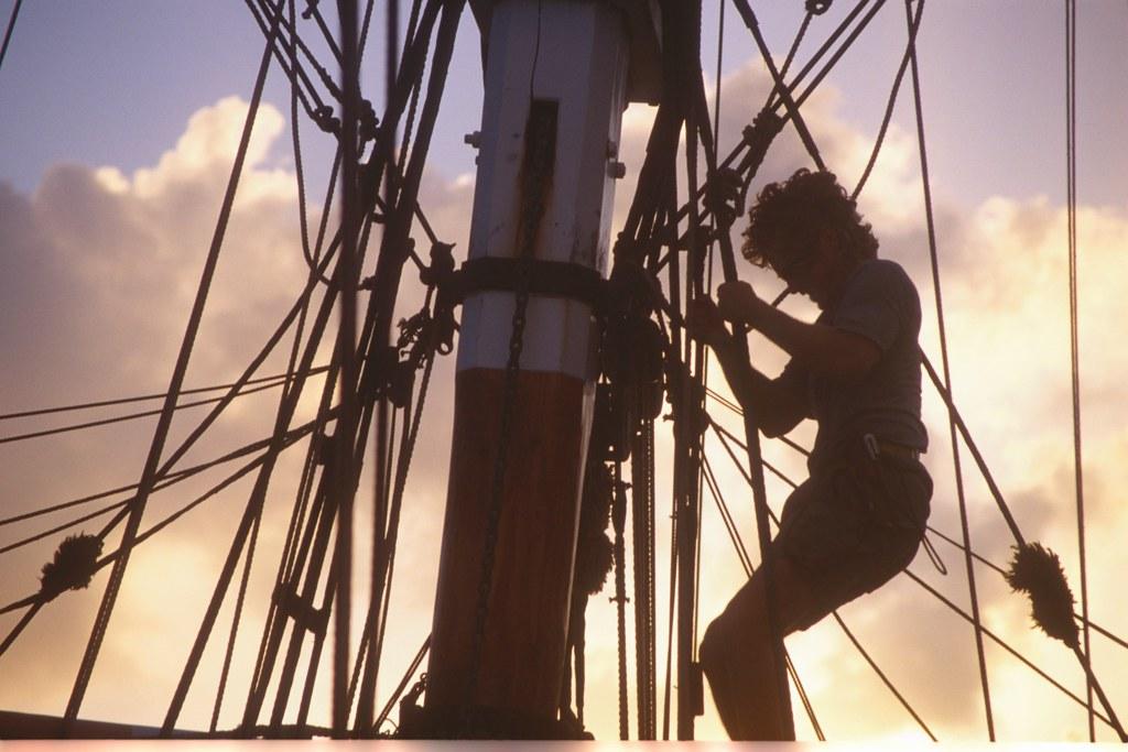 Navegación en Soren Larsen Curaçao Panamá
