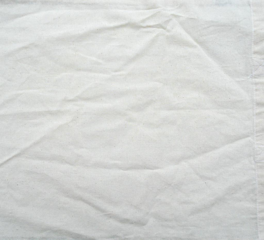 White Cloth Bed Frame