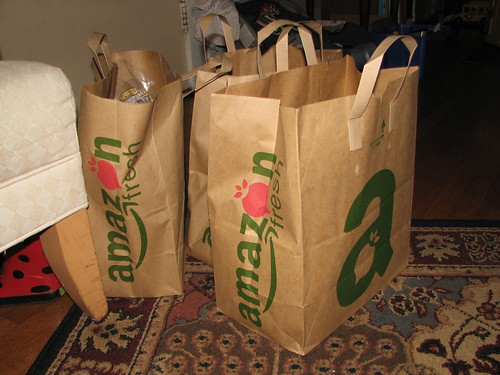 Amazon Fresh bags | by GlennFleishman