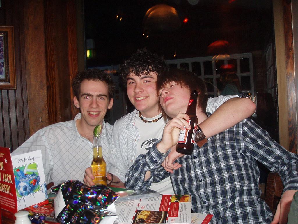 Henrys 18th Birthday Party At TGI Fridays