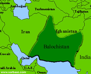 Image result for Balochistan, map