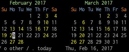 emacs-calendar