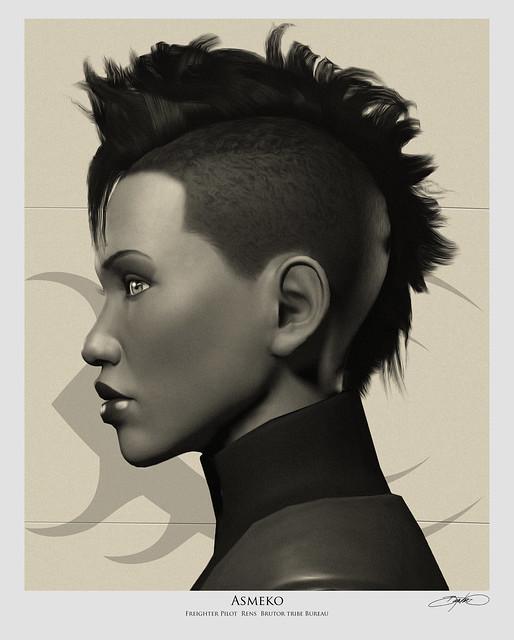 Asmeko Portrait