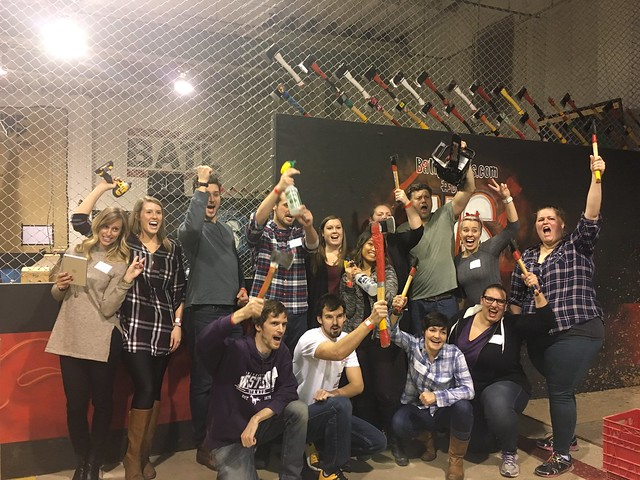 London Chapter Axe Throwing