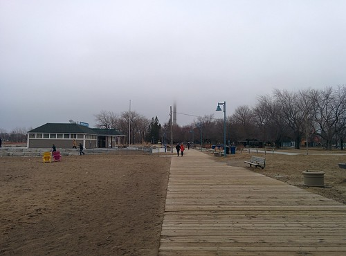 On Woodbine Beach (2)