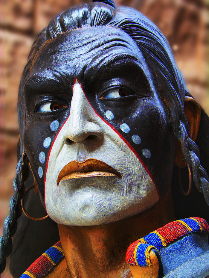 Jh Blackfoot Native American Statute 2009 Jerry T Patter Flickr