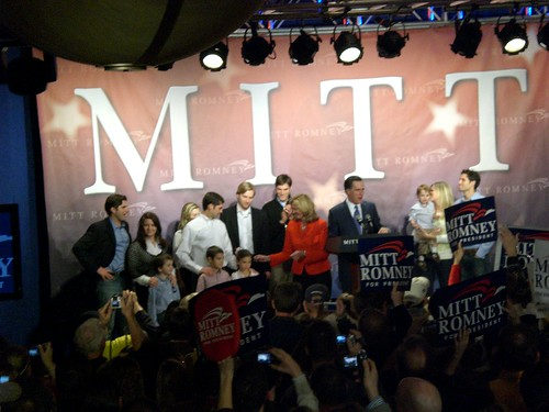 The Romney Family addresses supporters | by Talk Radio News Service