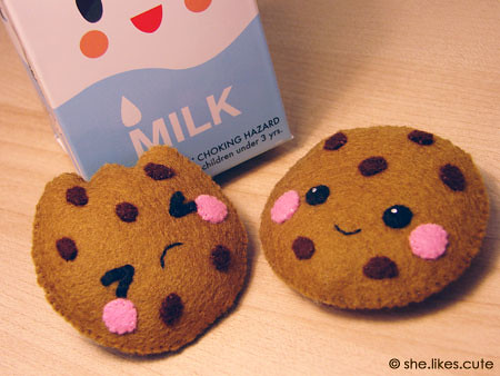 Milk and cookies Who doesn t love chocolate chip cookies