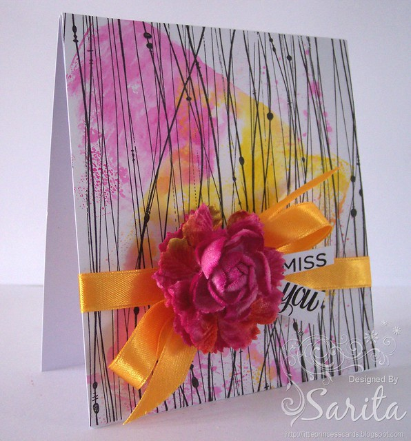 Wavy Lines card 1