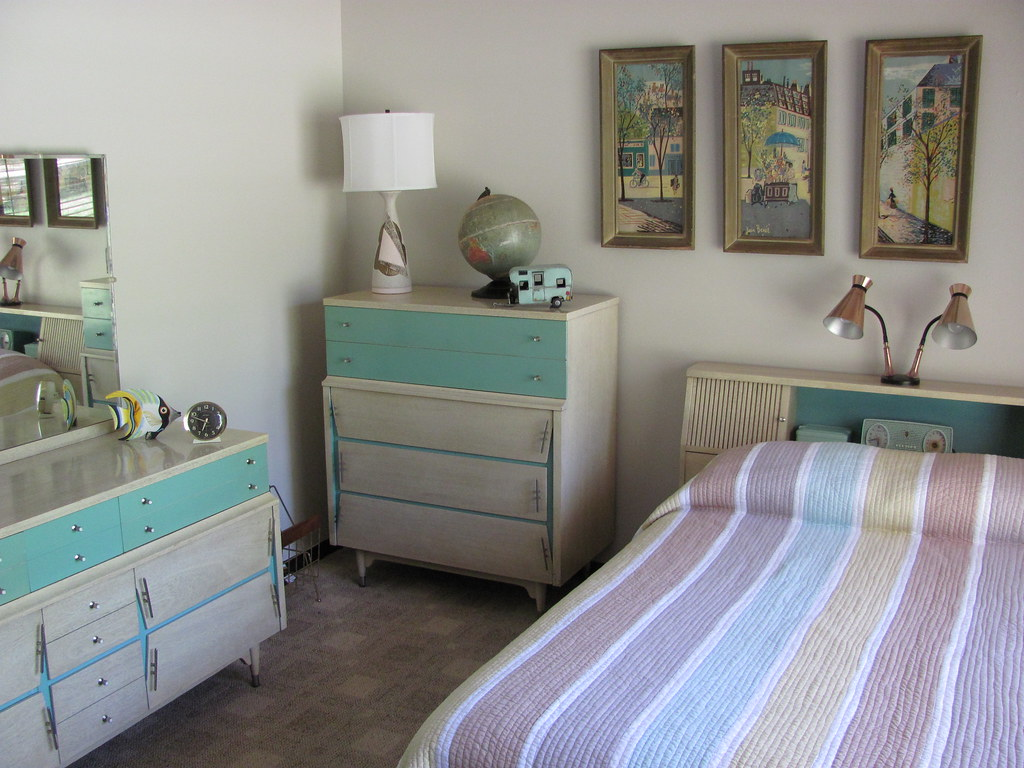 50s United Furniture Bedroom Suite I Found This Bedroom Su Flickr