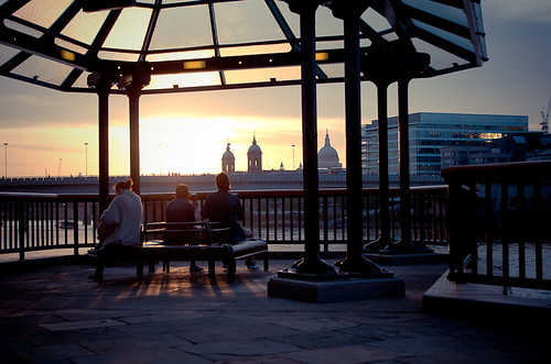 Sunset in London | by Joffrey Guidon
