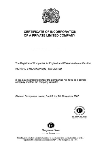 Richard Byrom Consulting Limitedv2 | by Richard Byrom