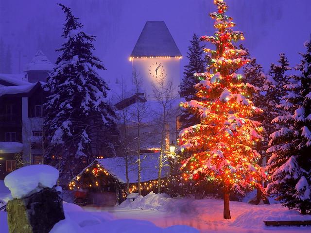 christmas village vail colorado by kruhme - Colorado Christmas