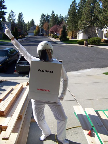 Asimo Robot Costume | by jetsandzeppelins