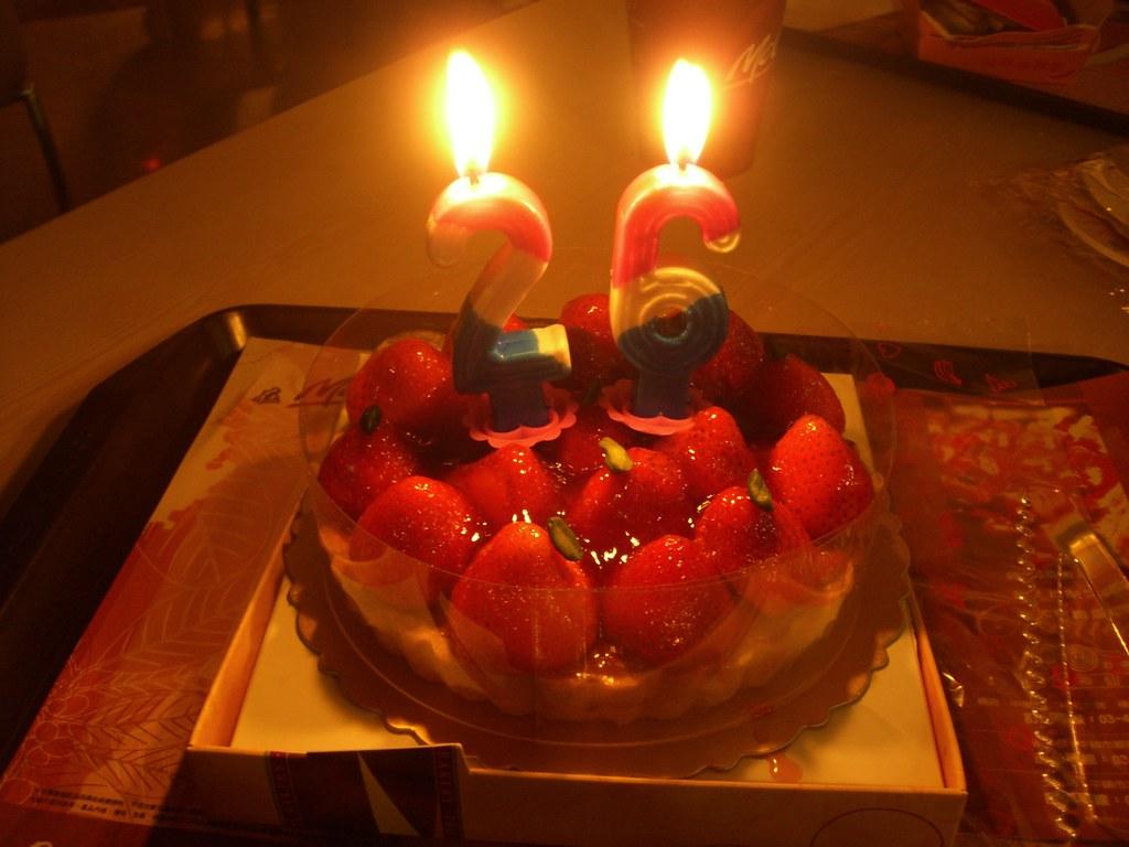 26th Birthday Cake Ashishlin Flickr