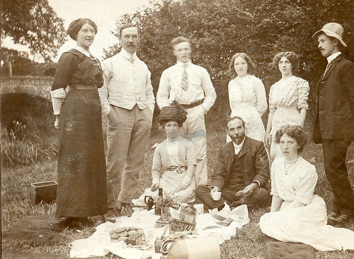 An Edwardian Picnic Found Image Lovely Picture Of A