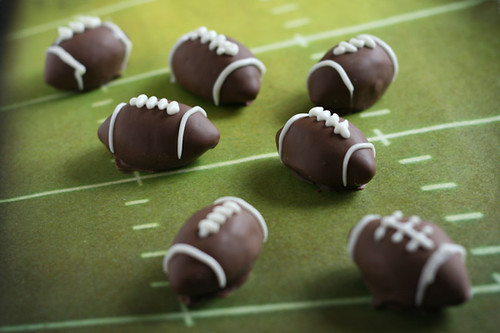 Football Oreo Truffles | by Bakerella