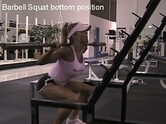 Barbell Squat Bottom Position | by thebuffmother