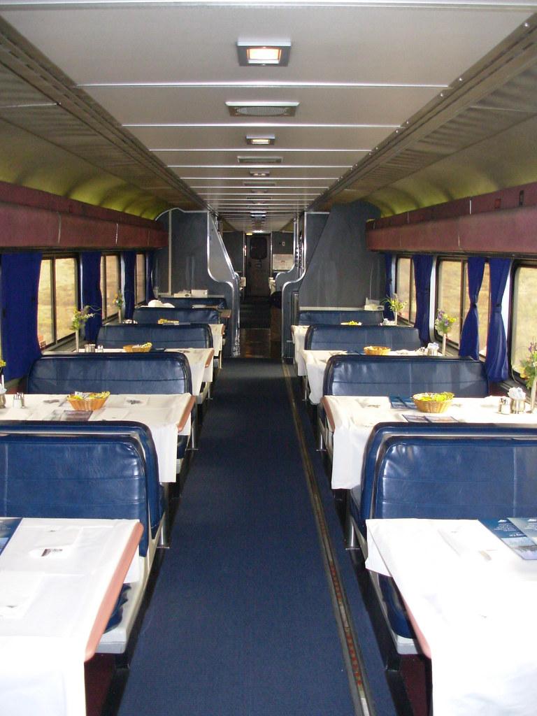 dining car onboard california zephyr the morning departure flickr. Black Bedroom Furniture Sets. Home Design Ideas