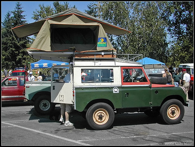 Land Rover Bellevue >> Land Rover Series-II 88, 1963 – Roof-Top Tent   [ 2003 Weste…   Flickr