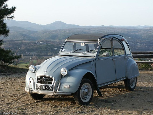 citroen 2cv azam export