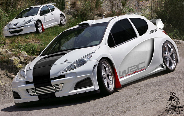 peugeot 207 tuning car leo tcl flickr. Black Bedroom Furniture Sets. Home Design Ideas
