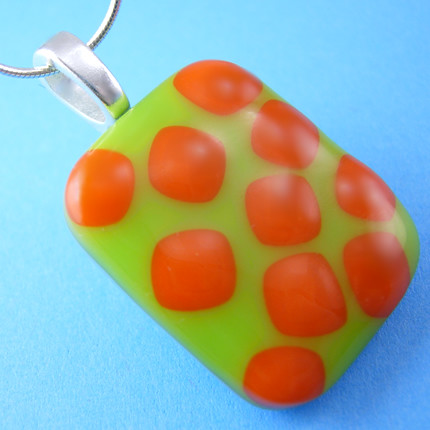 Lime Green And Orange Pendant Lis Flickr