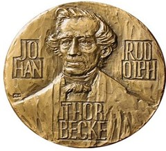 1975 Johan Thorbecke Medal obverse