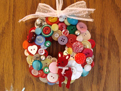 button wreath! | by Elle Price