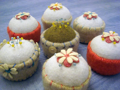 Flower Pincushions | by Lemon Tree Tales