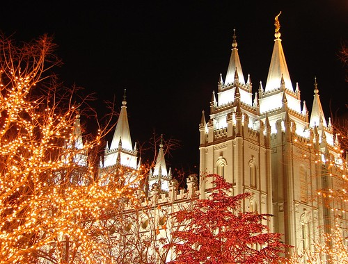 Salt Lake Temple Christmas lights | by Hendricks_NY