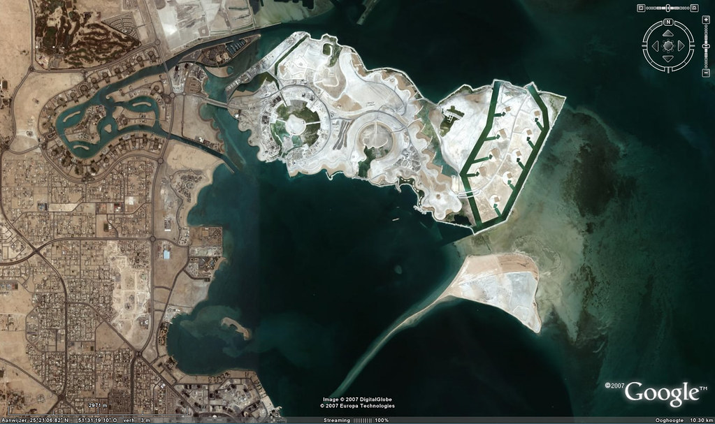 Pearl qatar doha for the google earth fans a screenshot f flickr pearl qatar doha by fatboyke luc gumiabroncs Choice Image