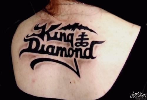 King Diamond Logotipo Cristiano Machado Flickr