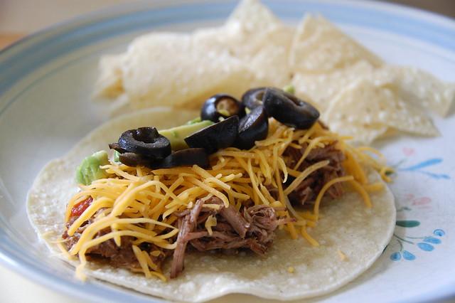Crockpot Shredded Beef Soft Tacos | Flickr - Photo Sharing!