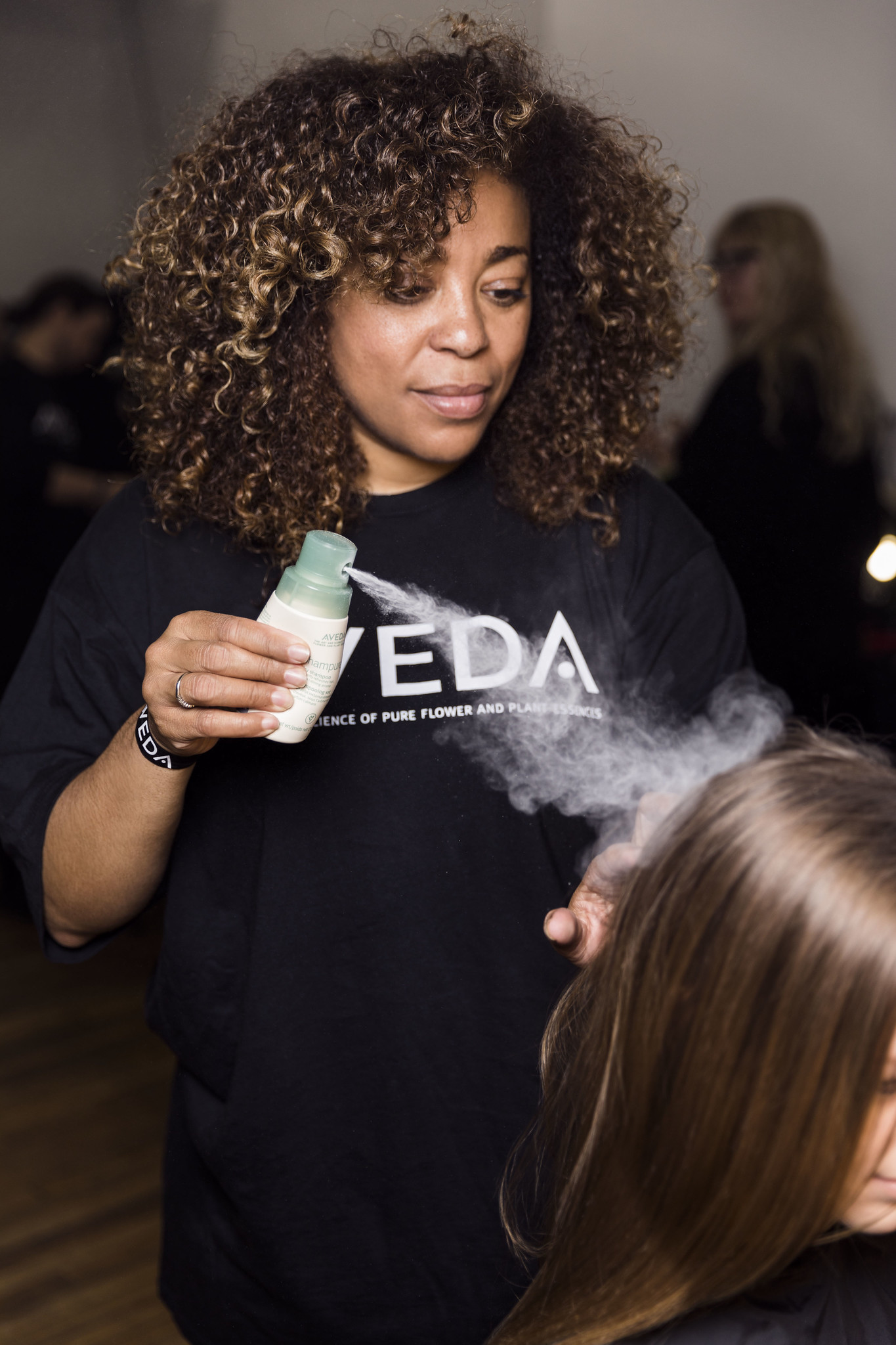 Aveda Hellessy Backstage Fall Winter 2017 Collections New York Fashion Week