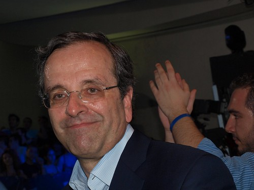Antonis Samaras, head of Greece's main opposition party, New Democracy | by Teacher Dude's BBQ