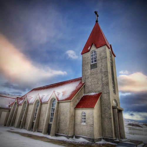 The Church in Winter | by Stuck in Customs