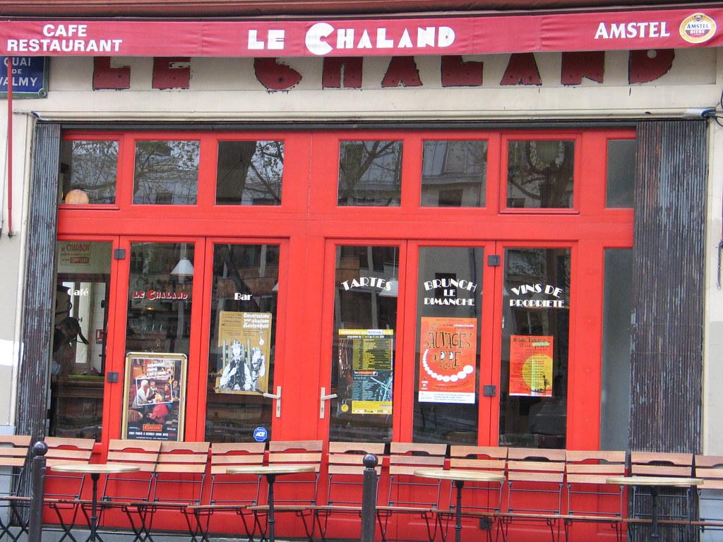 115 or cafe le chaland quai de vamy paris carolus124 flickr. Black Bedroom Furniture Sets. Home Design Ideas