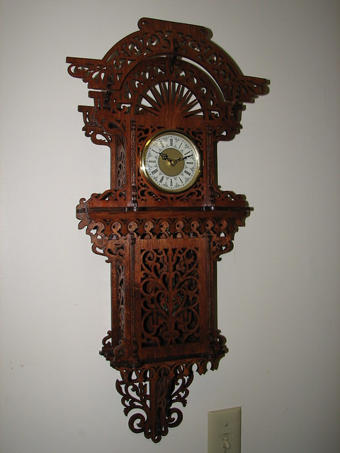 Wall hanging grandfather clock flickr photo sharing - Wall hanging grandfather clock ...