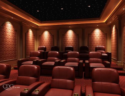 arcadia theater design home theater interior design conc